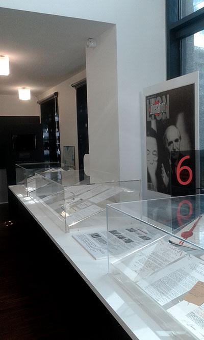 Vignette vitrine archive sur le procès de Klaus Barbie