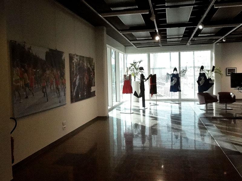 Photos et costumes exposés dans le cadre de la biennale de la danse à Lyon 2018